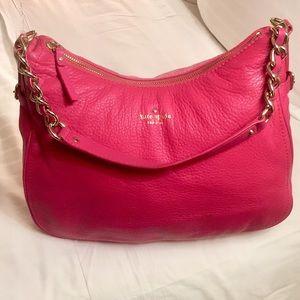 Kate Spade Pink Purse L10 1/2 W15 1/2 D4 1/2 S18